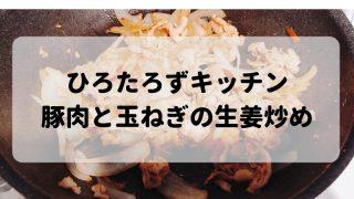 豚の玉ねぎ生姜炒めの素